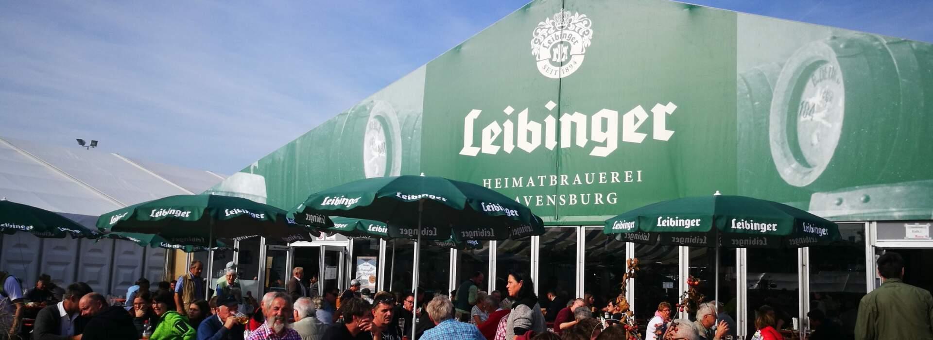 Oberschwabenschau Leibinger Zelt