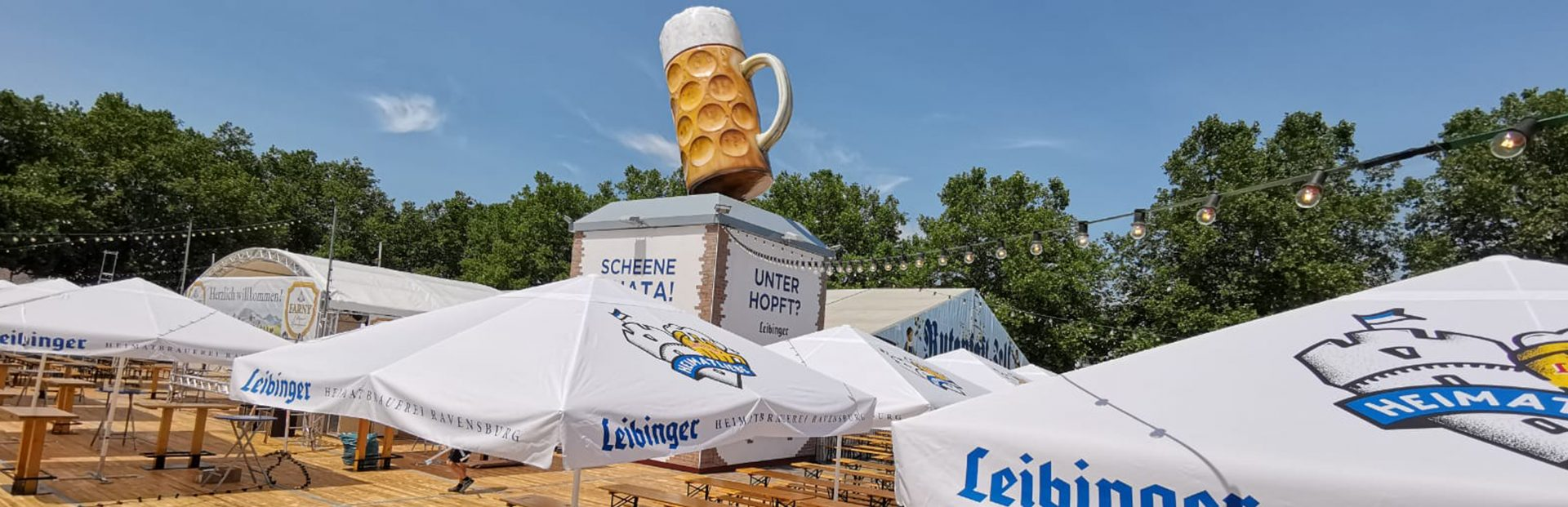 Leibinger Rutenfest Festzelt