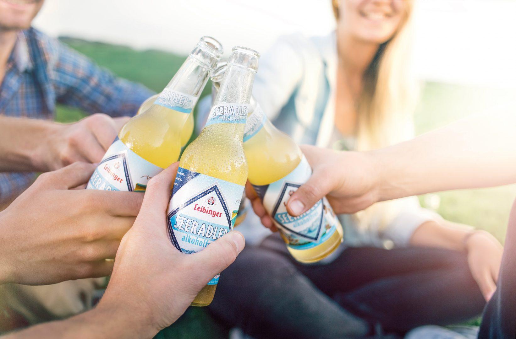 Leibinger Seeradler alkoholfrei anstoßen