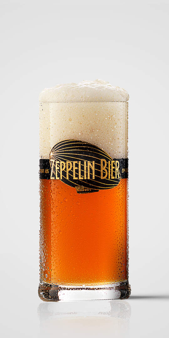 Zeppelin Bier Club-Becher 0,1 l
