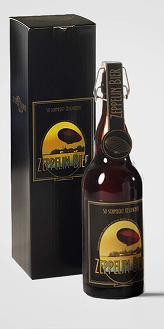 Zeppelin Bier 1 L Bügelflasche