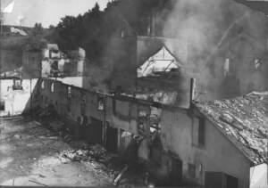 Zerstörung Brauerei Leibinger 1941