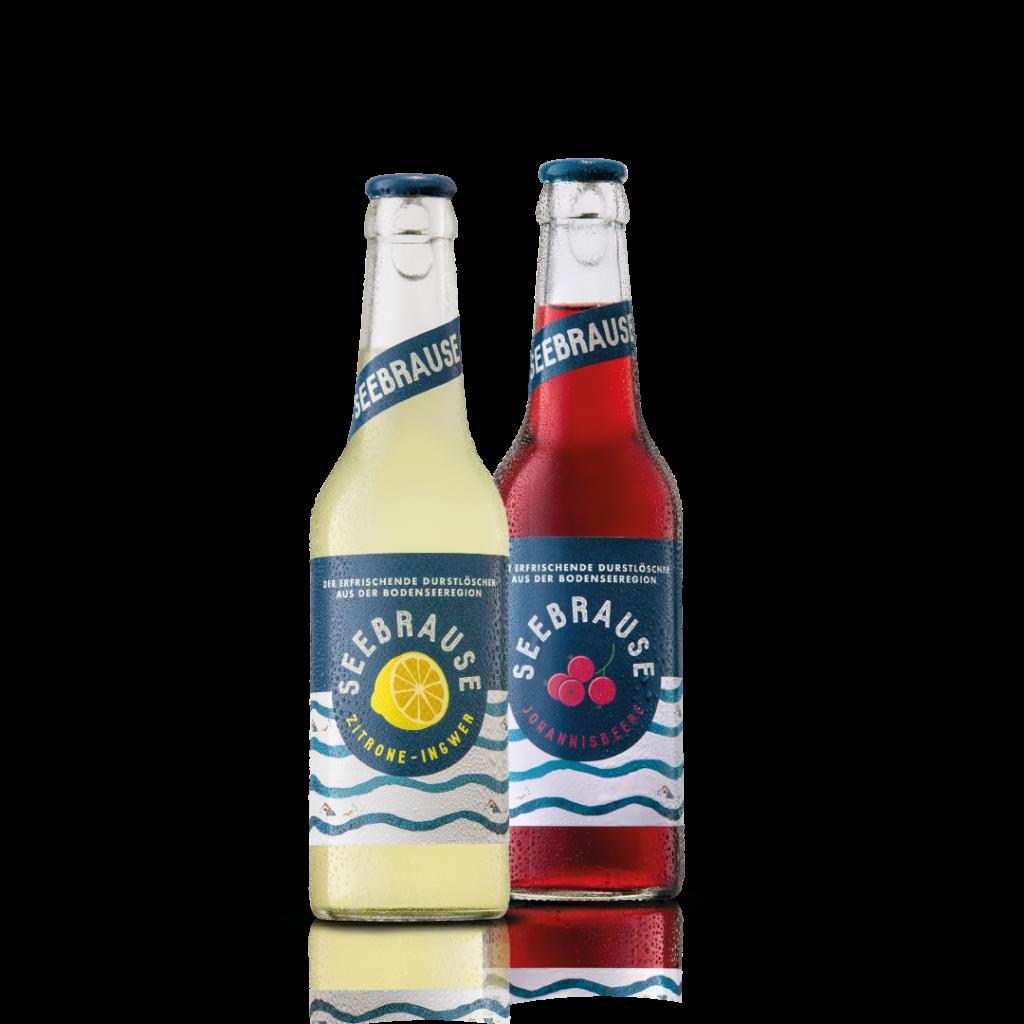 Seebrause Zitrone-Ingwer & Johannisbeere