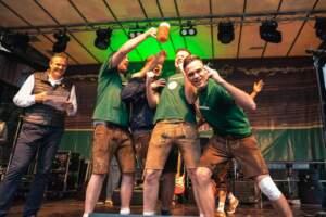 Leibinger Bierbuckelfest Siegerehrung