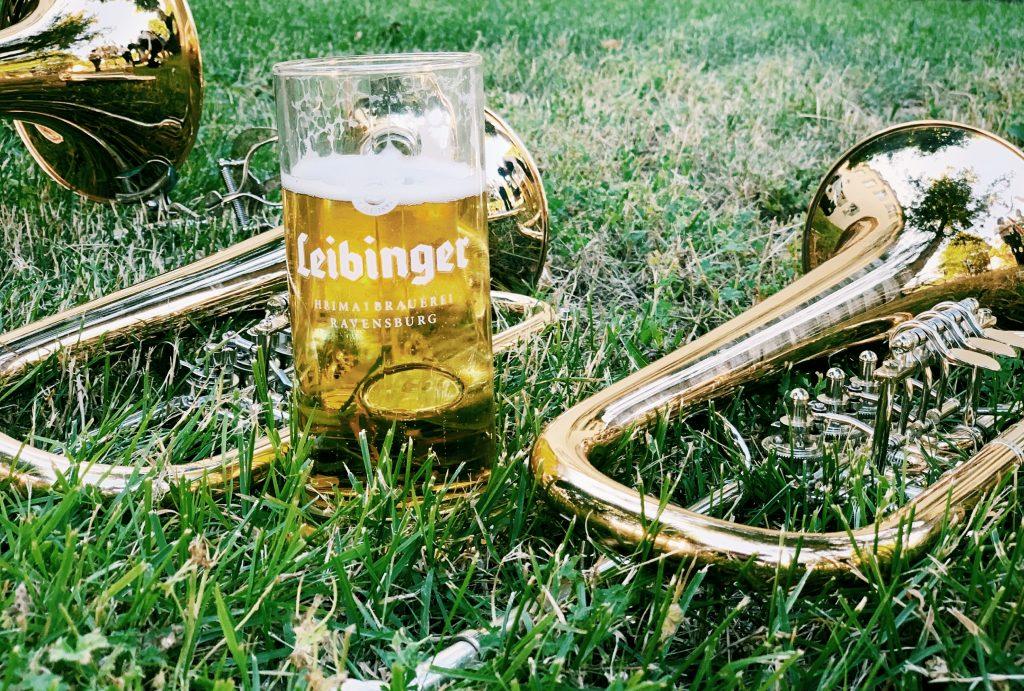 Leibinger Bierkrug und Musikverein Kehlen