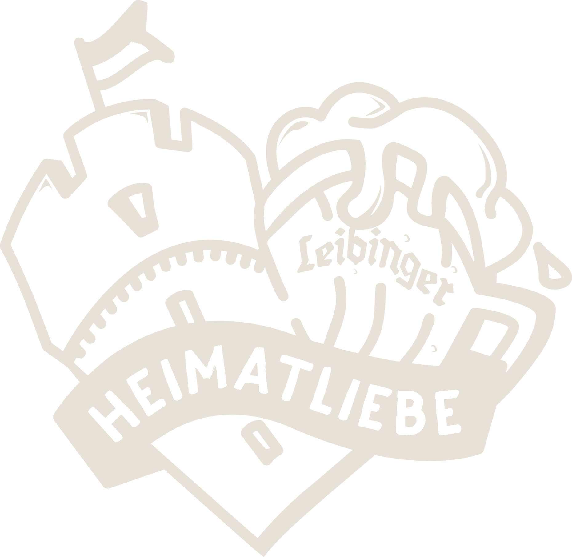 Heimatliebe Herz Rutenfest