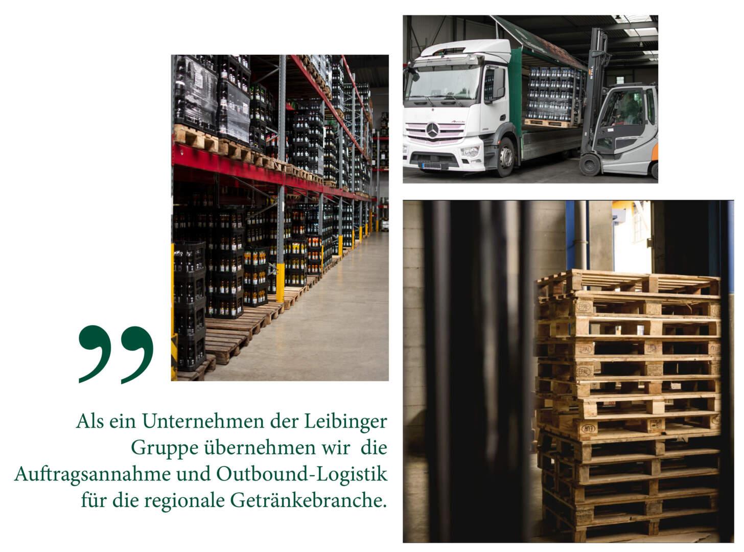Bildercollage Leibinger Getränke Service