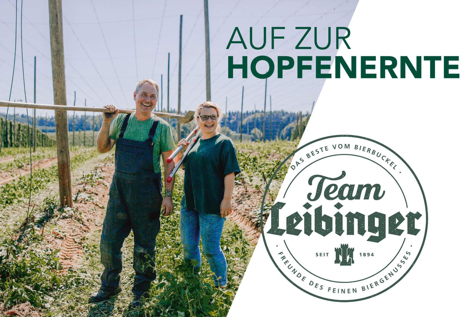 Hopfenführungen Team Leibinger